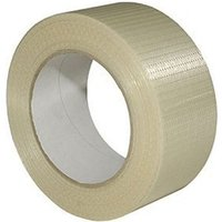 Sirius Heavy Duty Packing Crossweave Tape Clear 25mm 50m