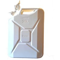 Sirius Metal Jerry Can 20l White