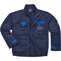 Portwest Mens Texo Contrast Padded Jacket Navy L