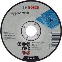 Bosch A30S BF Flat Metal Cutting Disc 100mm