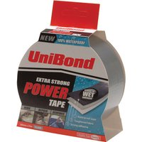 Unibond Extra Strong Power Tape Silver 50mm 25m