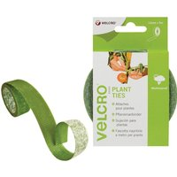 Velcro Brand Plant Ties Green 12mm 5m Pack of 1