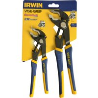 Irwin Vise Grip 2 Piece Soft Grip Fast Release Locking Plier Set
