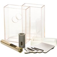Vitrex Diamond Drill Bit and Adhesive Coolant System 6mm