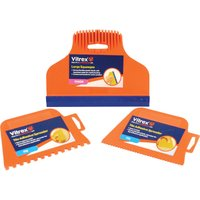 Vitrex 3 Piece Tiling Spreader and Squeegee Kit