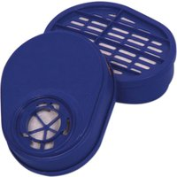 Vitrex A1 Respirator Filters for 331300 Respirator Pack of 2