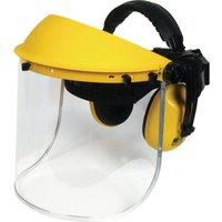 Vitrex Face Shield Safety Visor & Ear Defenders Set