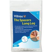 Vitrex Long Leg Tile Spacers 2mm Pack of 2000