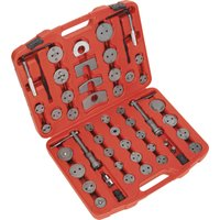 Sealey 52 Piece Brake Piston Wind Back Tool Kit