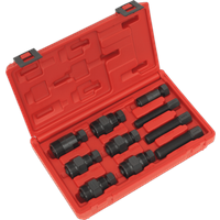 Sealey 10 Piece Motorcycle Flywheel Puller Set