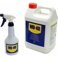 WD40 Multi Purpose Liquid & Spray Bottle 5l