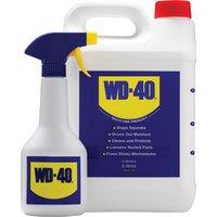 WD40 Multi Purpose Liquid and Spray Bottle 5l