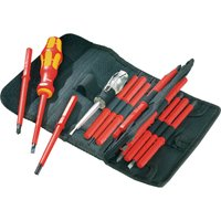 Wera 16 Piece Kraftform Kompakt VDE Insulated Screwdriver Set