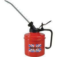 Wesco Metal Oil Can and Metal Spout 500ml