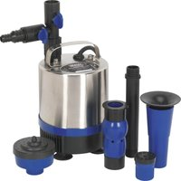 Sealey WPP1750S Stainless Steel Submersible Pond Water Pump 240v