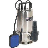Sealey WPS250A Stainless Steel Submersible Clean Water Pump 240v