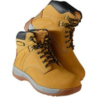 Dewalt Mens Extreme 3 Wheat Safety Work Boot Honey Size 7