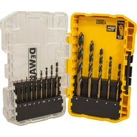 Dewalt 14 Piece Tough Case Black and Gold Metal Drill Bit Set