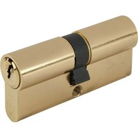 Yale X6 Kitemark Double Euro Cylinder 95mm 40mm x 45mm Brass