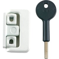 Yale Locks 8K101 Window Latches Multi Pack White Pack of 4