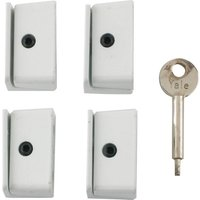 Yale Locks 8K109 Window Stop Pack of 4