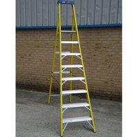 Youngman CATWALK TRADE Fibreglass Platform Step Ladder 8