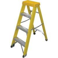 Zarges Fibreglass Swingback Step Ladder 4