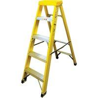 Zarges Fibreglass Swingback Step Ladder 5