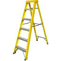 Zarges Fibreglass Swingback Step Ladder 6