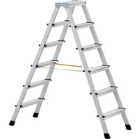 Zarges Anodised Double Sided Step Ladder 6