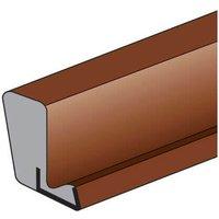 Trend Aqua 109 Weatherseal Strip Brown 10m