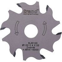 Trend Biscuit Jointer Blade 100mm 4mm 22mm