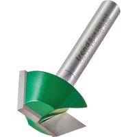 Trend CRAFTPRO Bearing Guided Bevel Trimmer Router Cutter 25 4mm 10mm 1 4