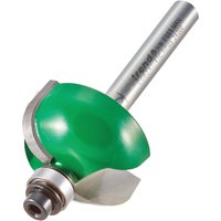 Trend CRAFTPRO Radius Bearing Guided Router Cutter 28 5mm 14 3mm 1 4