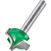 Trend CRAFTPRO Rounding Over Router Cutter 22 2mm 15mm 1 4
