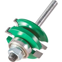 Trend CRAFTPRO Bearing Guided Combination Ogee Router Cutter 41mm 17mm 1 4