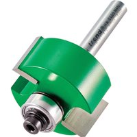 Trend Bearing Self Guided Rebate Router Cutter 31 8mm 15 9mm 1 4