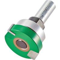 Trend CRAFTPRO Intumescent Recesser Bearing Guided Router Cutter 40mm 10mm 1 2