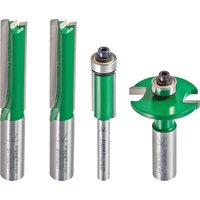 Trend CR/KFP/2 Kitchen Fitters Router Cutter Pack