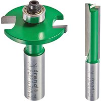 Trend CR/KFP/3X12MM Kitchen Fitters Router Cutter Pack