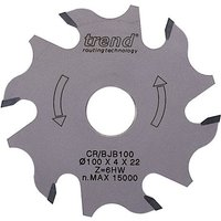 Trend CRAFTPRO Biscuit Jointer Blade 100mm 3.4mm 22mm