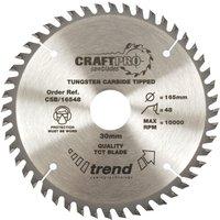 Trend CRAFTPRO Wood Cutting Saw Blade 190mm 40T 16mm
