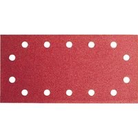 Bosch Punched Hook and Loop Sanding Sheets 115mm x 230mm 100g Pack of 10
