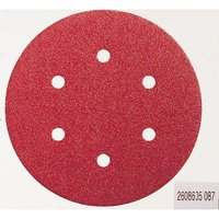 Bosch Red Wood Sanding Disc 150mm 150mm 120g Pack of 5