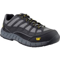 Caterpillar Streamline Leather Safety Shoe Charcoal Size 8