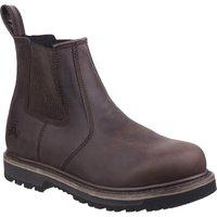 Amblers Mens Carlisle Dealer Boots Brown Size 6