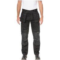 Caterpillar Mens Floor Layer Flex Trousers Black 32