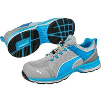 Puma Safety Xcite Low Toggle Safety Shoe Grey / Blue Size 13