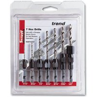 Trend Snappy 7 Piece Imperial Drill Set