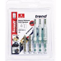 Trend Snappy 5 Piece Drill Bit Guide